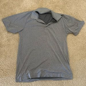 LuluLemon Gray Polo
